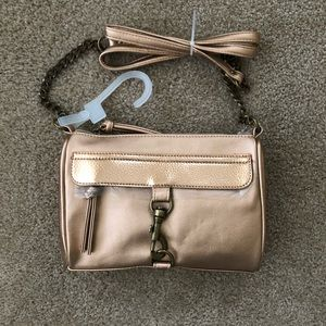 Cute Crossbody Rose Gold/Bronze Purse